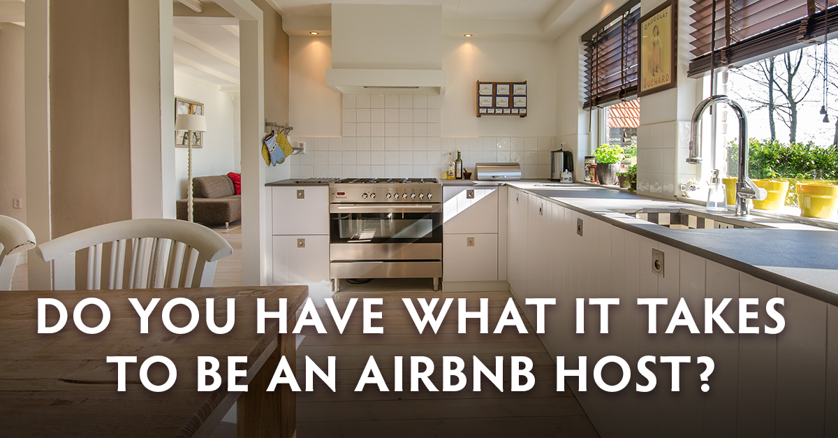 Do you have what it takes to be an Airbnb host?